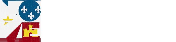 Love Acadiana White Logo